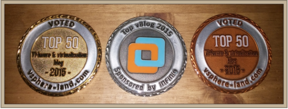 Top vBlogs Medal