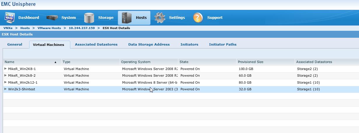 EMC VNXe3200 and VMware Integration | Technology Blog by