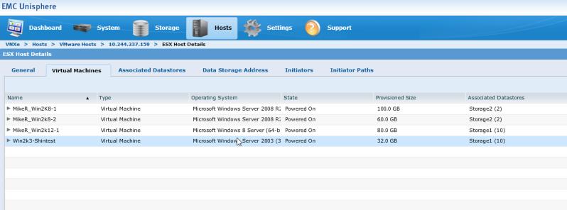 VM Info